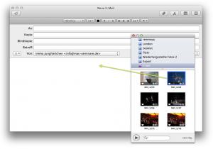 Video in Mail-Fenster bewegen